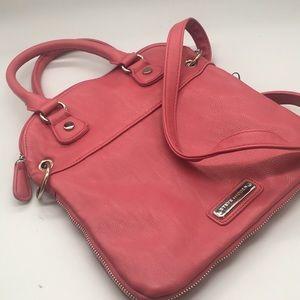Steve Madden pink vegan crossbody bag
